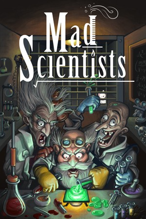 Mad Scientists Escape Room in Hamilton Ontario Poster