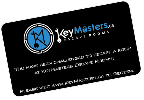 KeyMasters Escape Rooms Hamilton - Gift Voucher